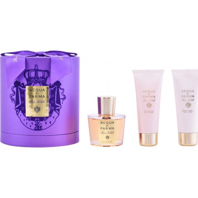 ACQUA DI PARMA Iris Nobile Set: EDP 100ml + body cream 75ml + shower gel 75ml