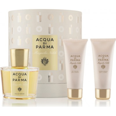 ACQUA DI PARMA Magnolia Nobile Set: EDP 100ml + body cream 75ml + shower gel 75ml