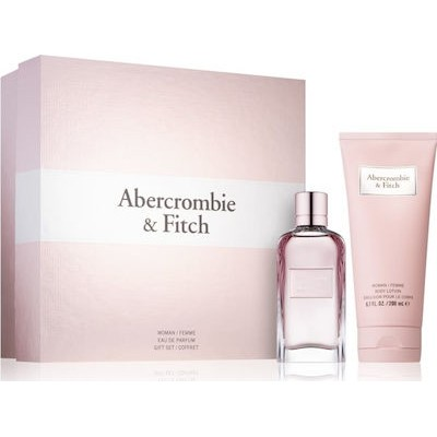ABERCROMBIE & FITCH First Instinct for Her SET: EDP 50ml + body lotion 200ml