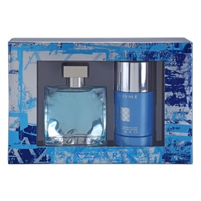 AZZARO Chrome SET: EDT 100ml + deo stick 75ml