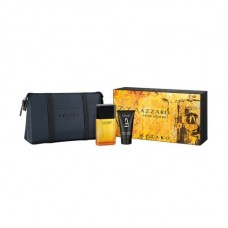 AZZARO Pour Homme SET:EDT 50ml + aftershave balm 30ml + pouch