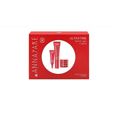 ANNAYAKE Ultratime Anti-wrinkle SET: Serum 15ml + Eye Contour Care 7ml + Re-Densifying Cream 15ml