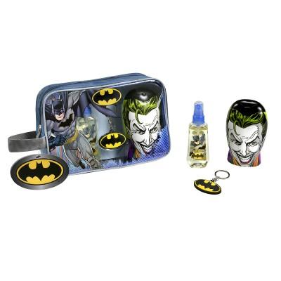 Batman SET: EDT 90ml + shower gel 300ml + μπρελόκ L-1764