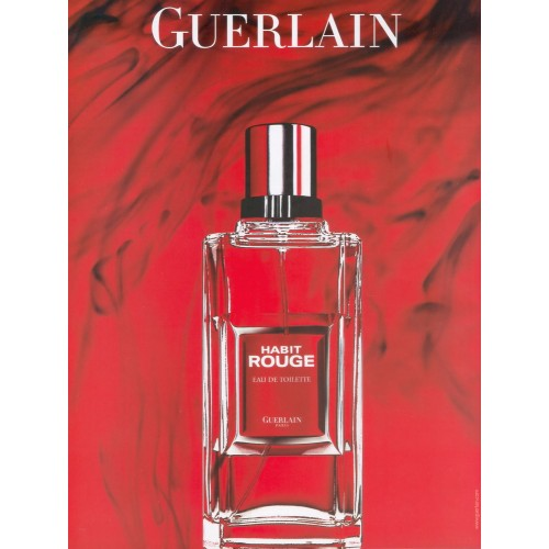 guerlain habit rouge edt 200ml. Black Bedroom Furniture Sets. Home Design Ideas