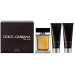 DOLCE & GABBANA The One SET For Men: EDT 100ml + aftershave balm 50ml + shower gel 50ml