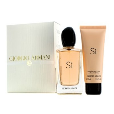 ARMANI Si SET: EDP 100ml + body lotion 75ml
