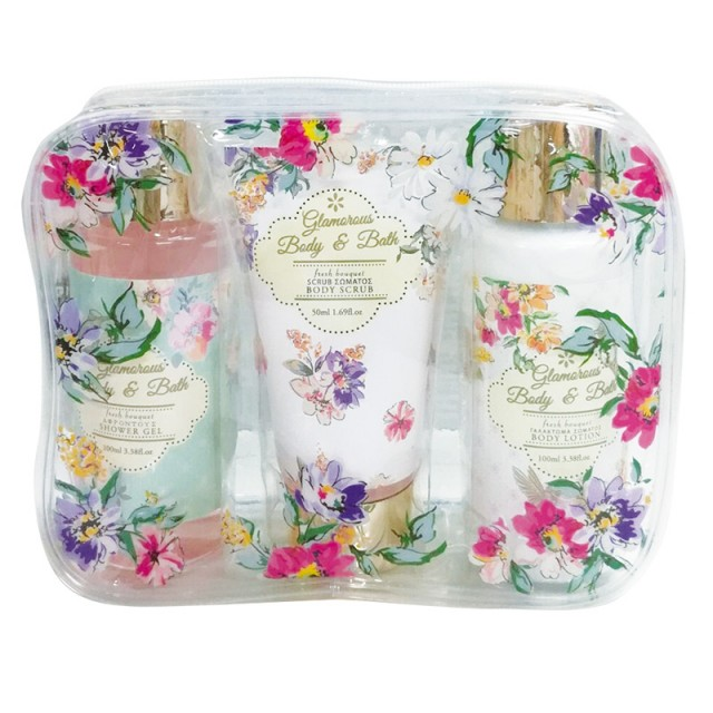 Folia Professional Glamorous Body & Bath Fresh Bouquet SET 41-147
