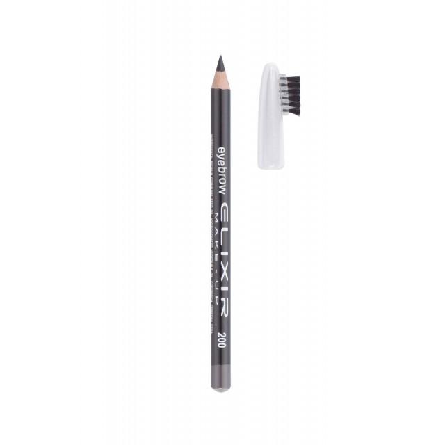 ELIXIR Eyebrow Pencil 204 - Chocolate