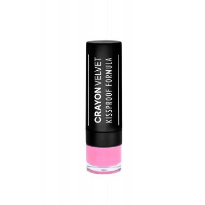 ELIXIR Crayon Velvet Kissproof Formula 511 - Vivid Pink