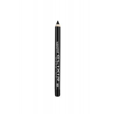 ELIXIR Waterproof Eye Pencil - 001 Black Diamond