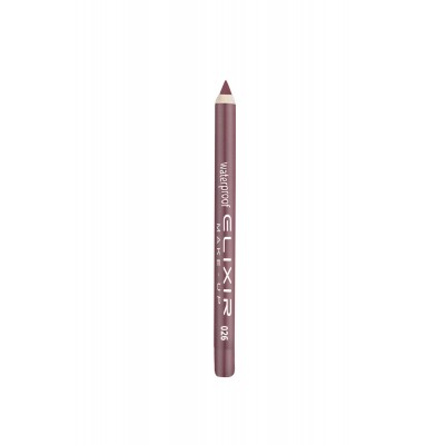 ELIXIR Waterproof Lip Pencil - 026 Iris Mauve