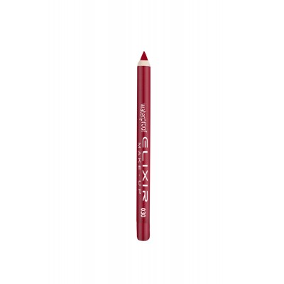 ELIXIR Waterproof Lip Pencil - 030 True Red