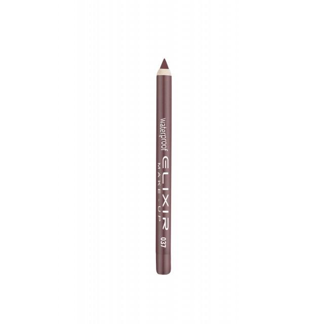 ELIXIR Waterproof Lip Pencil - 037 Modern Mauve