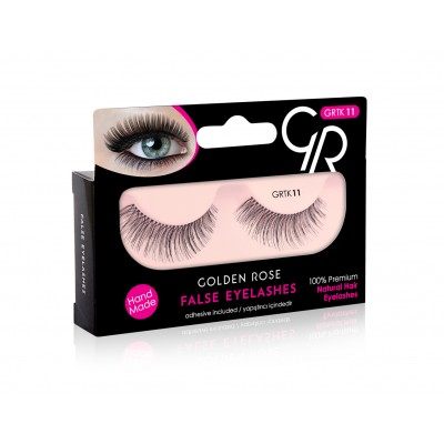 GOLDEN ROSE False Eyelashes And Adhesive GRTK 11