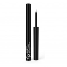 GOLDEN ROSE Vinyl Liner Waterproof Eyeliner Glossy Black