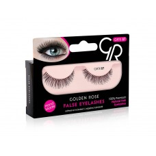 GOLDEN ROSE False Eyelashes And Adhesive GRTK 07