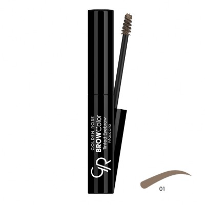 GOLDEN ROSE Brow Color Tinted Eyebrow Mascara 01