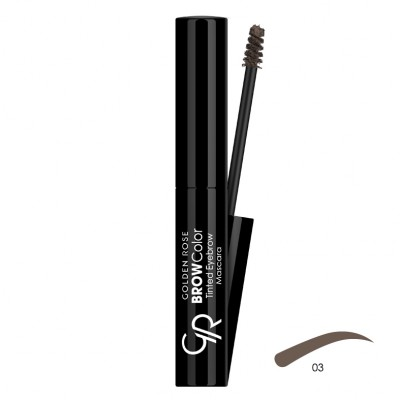 GOLDEN ROSE Brow Color Tinted Eyebrow Mascara 03