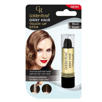GOLDEN ROSE Gray Hair Touch-Up Stick 01 Black 5.2g