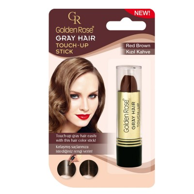 GOLDEN ROSE Gray Hair Touch-Up Stick 04 Red Brown 5.2g