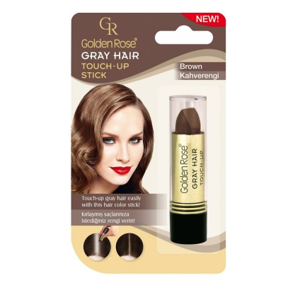 GOLDEN ROSE Gray Hair Touch-Up Stick 05 Brown 5.2g