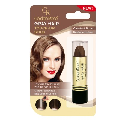 GOLDEN ROSE Gray Hair Touch-Up Stick 07 Chestnut Brown 5.2g