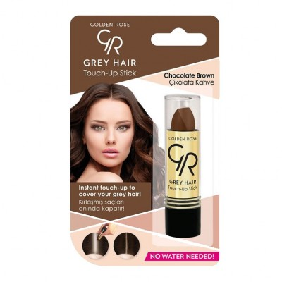 GOLDEN ROSE Gray Hair Touch-Up Stick 08 Chocolate Brown 5.2g