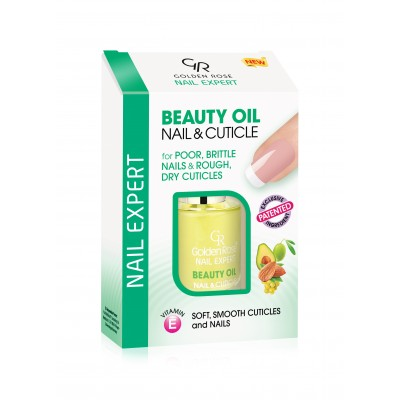 GOLDEN ROSE Nail Expert Beauty Oil Nail & Cuticle 11ml
