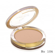 GOLDEN ROSE Pressed Powder 106 beige