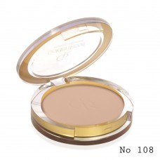 GOLDEN ROSE Pressed Powder 108 dark beige
