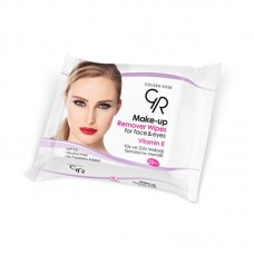 GOLDEN ROSE Make Up Remover Wipes - 25 τεμάχια