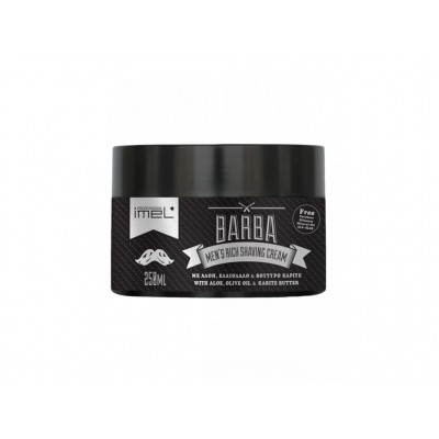 BARBA Men's Rich Shaving Cream - Κρέμα Ξυρίσματος 250ml