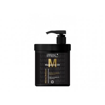 IMEL Μάσκα Μαλλιών Macadamia Οil & Κερατίνη 1000ml