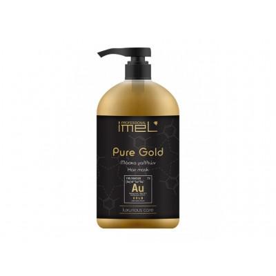 IMEL Μάσκα Μαλλιών Pure Gold 1000ml