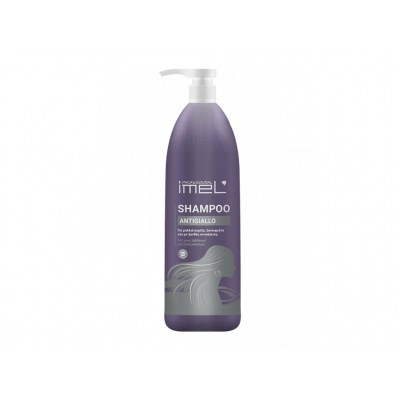 IMEL Shampoo Antigiallo - Για Μαλλιά Γκρίζα, Ξανοιγμένα Και Με Ξανθιές Ανταύγιες 1000ml
