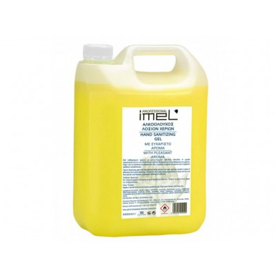 IMEL Αλκοολούχο Gel με Ηπιες Αντισηπτικές Ιδιότητες 4000ml