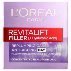 L'OREAL Revitalift Filler + Hyaluronic Acid Anti-Ageing Day Cream 50ml