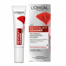 L'OREAL Revitalift Cicacrem Anti Wrinkle Eye Cream 15ml