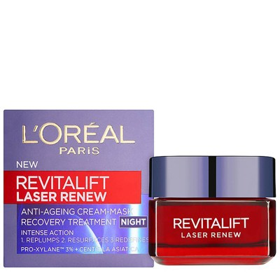 L'OREAL Revitalift Laser Renew Anti Ageing Cream Mask Night 50ml