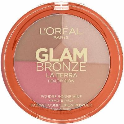 L'OREAL Glam Bronze La Terra Healthy Glow Bronzer 01