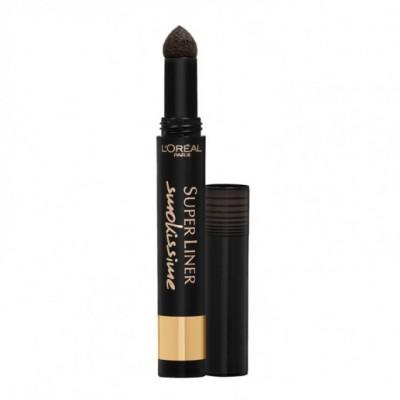 L'OREAL Super Liner Smokissime Eyeliner Pen 100 Black Smoke