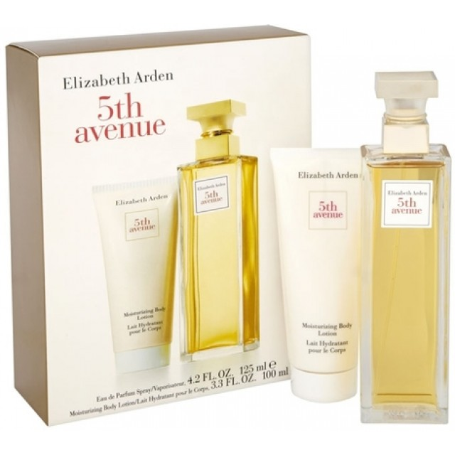 ELIZABETH ARDEN 5th Avenue SET: EDP 125ml + body lotion 100ml