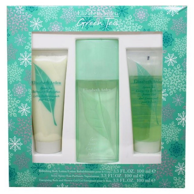 ELIZABETH ARDEN Green Tea SET: EDP 100ml + body lotion 100ml + shower gel 100ml