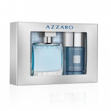 AZZARO Chrome SET: EDT 50ml + deo stick 75ml