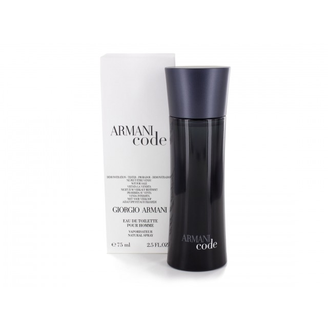 ARMANI Code for Men EDT 75ml TESTER