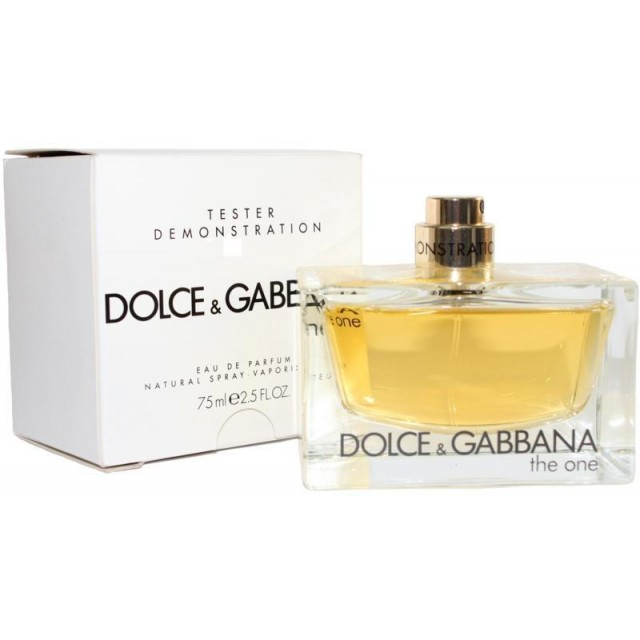 a18d6560f63c96 DOLCE   GABBANA The One Pour Femme EDP 75ml TESTER
