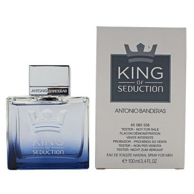 ANTONIO BANDERAS King Of Seduction EDT 100ml TESTER