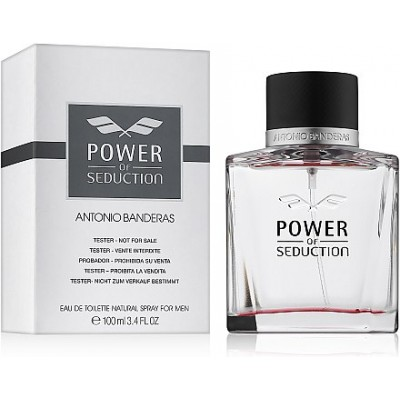 ANTONIO BANDERAS Power Of Seduction EDT 100ml TESTER