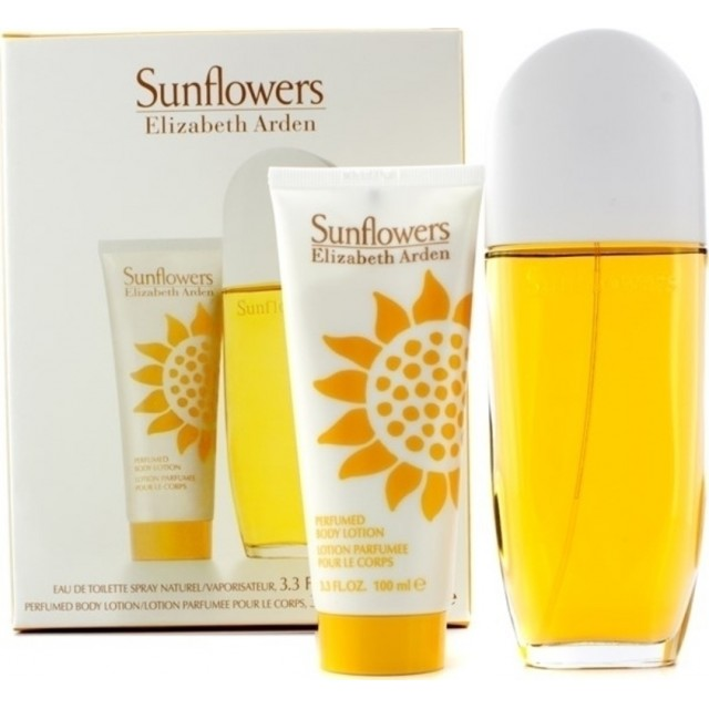 ELIZABETH ARDEN Sunflowers SET: EDT 100ml + body lotion 100ml