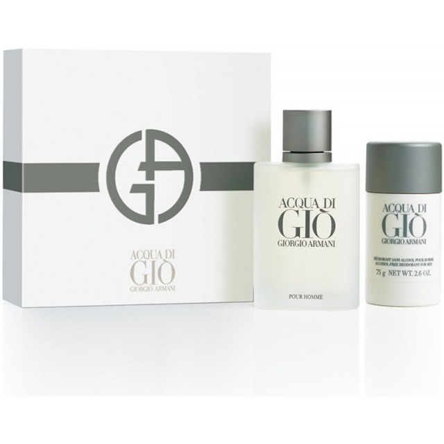 ARMANI Acqua Di Gio Set EDT 100ml + deo stick 75ml